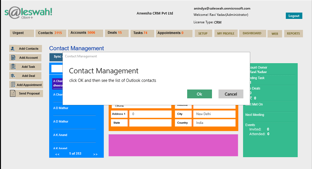 Microsoft Dynamics CRM App for Outlook - Microsoft ...