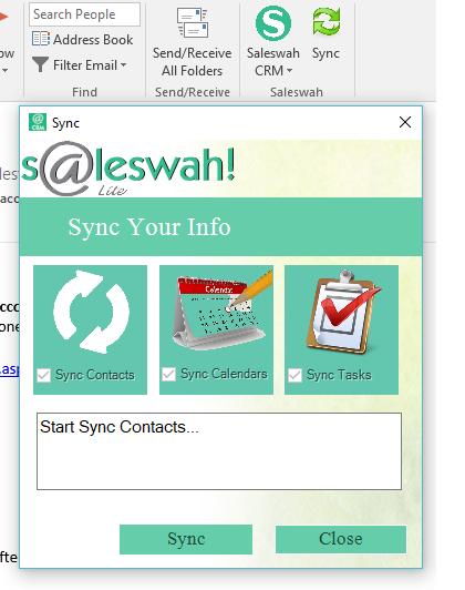Saleswah Lite CRM full screenshot